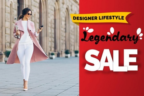 Legendary Sale: Designer lifestyle