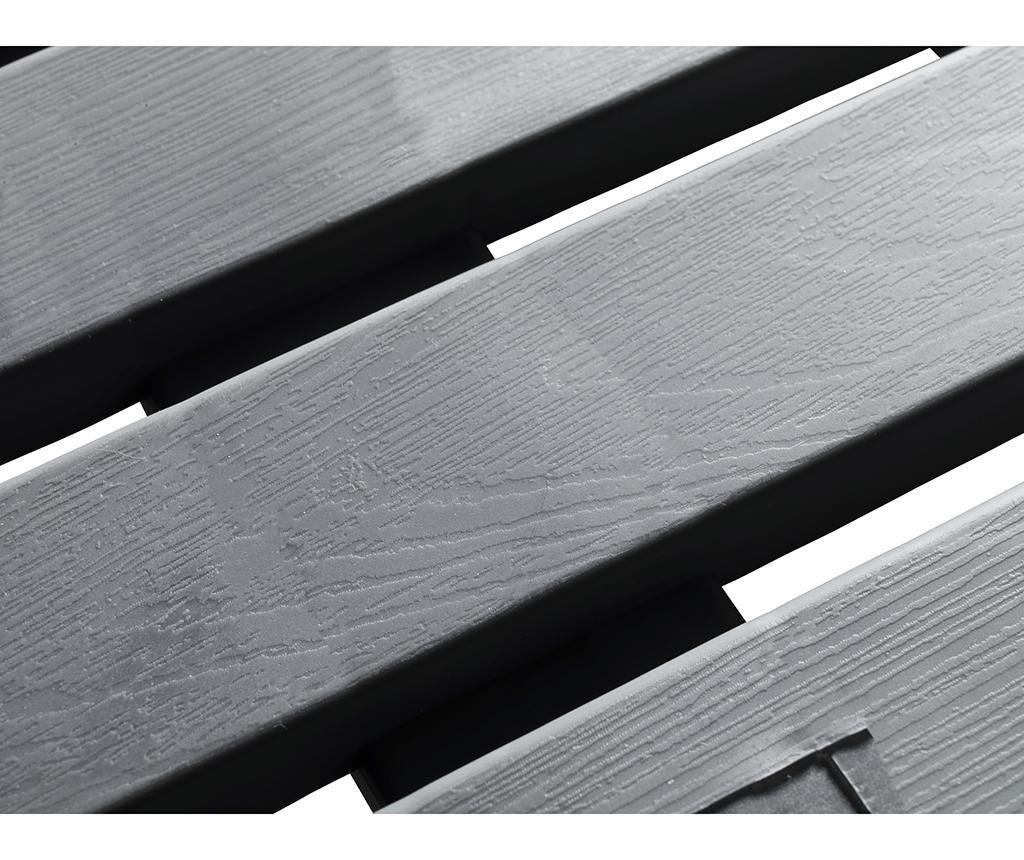 Podloga za prho Duck Grey 55x55 cm