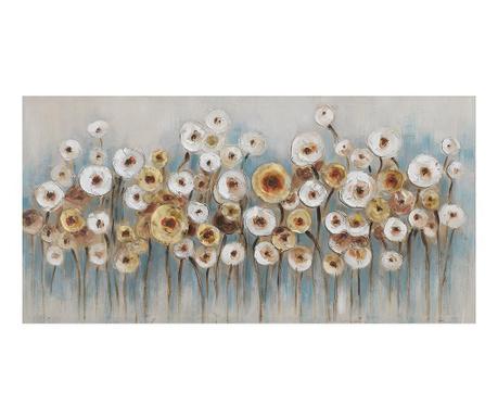 Obraz Flowers 60x120 cm