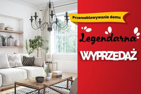 Legendarna Wyprzedaż:  Przemeblowywanie domu