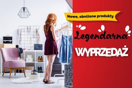 Legendarna Wyprzedaż: Nowe, obniżone produkty
