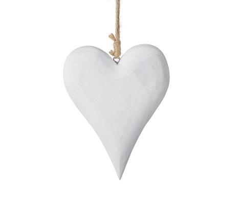 Decoratiune suspendabila Hanging White Heart