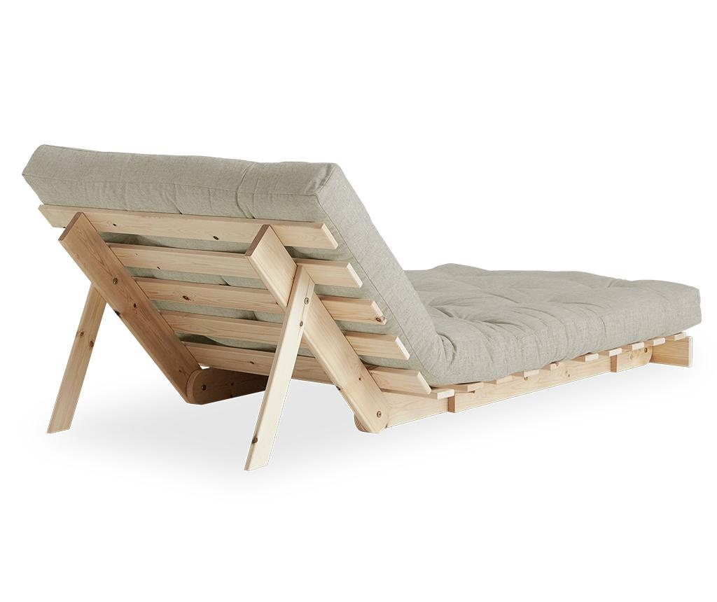 Raztegljiv fotelj Roots Raw & Linen Half 90x200 cm