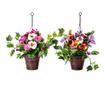 Set 2 umjetne biljke u posudi Pensamiento