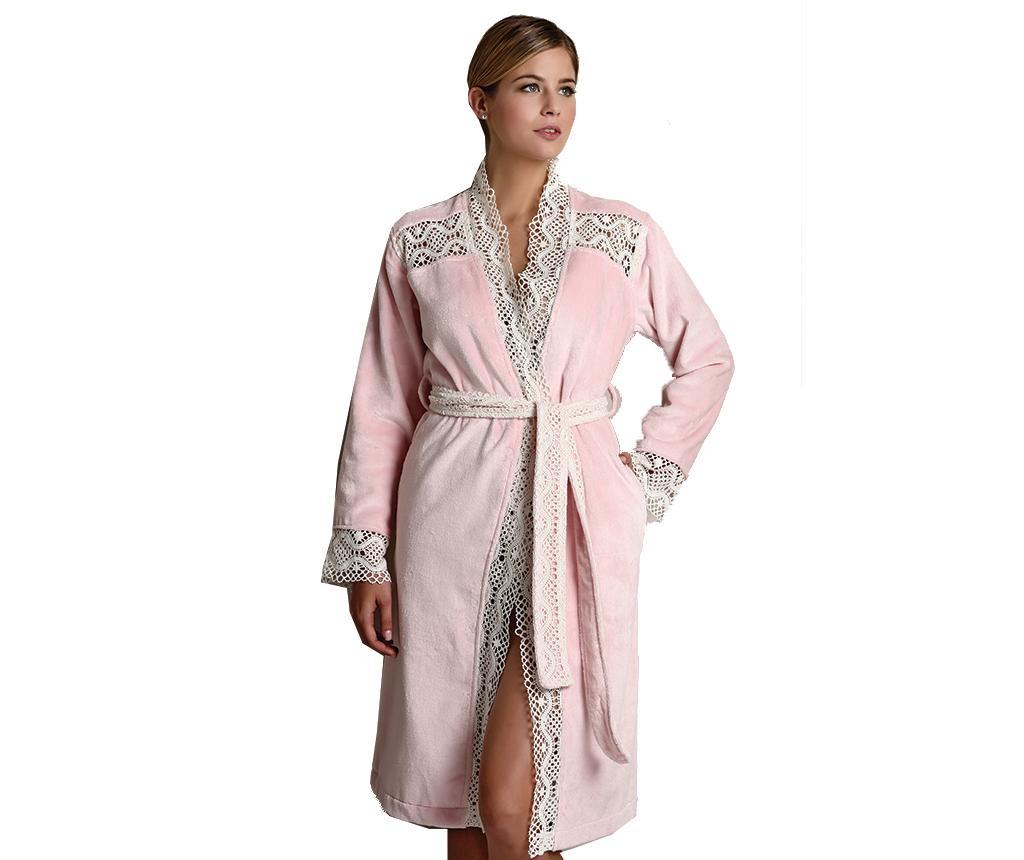 Halat de baie dama Odelia Pink XL