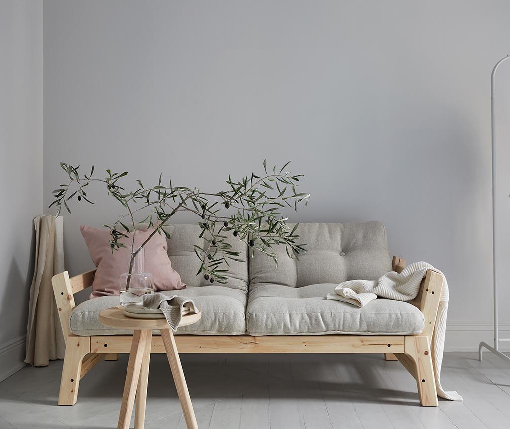 Sofa extensibila Step Duo Natural & Linen Half