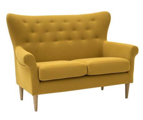Amelie Cotone Yellow Kétszemélyes kanapé