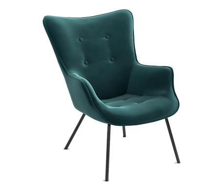 Tilda Riviera Metal Turquoise Fotel