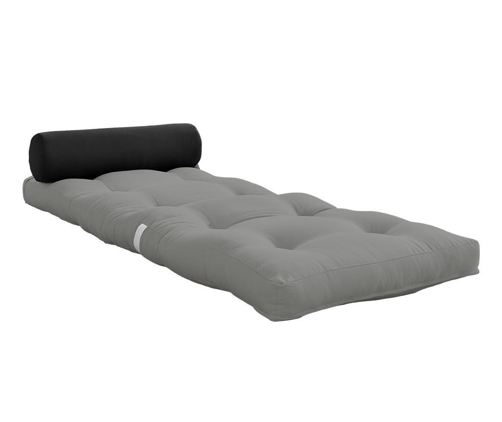 Wrap Grey Puff 70x200 cm