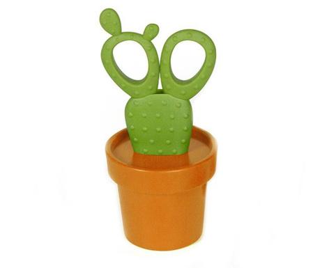 Foarfeca in suport Cactus Orange Green