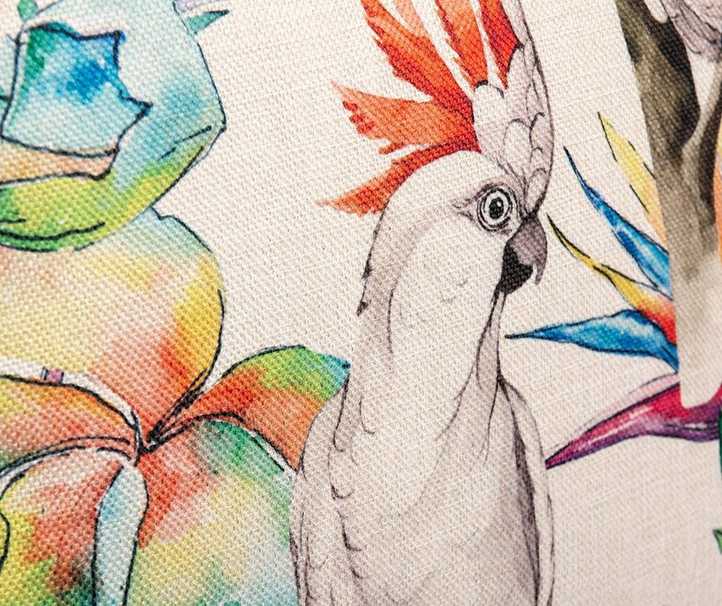 Okrasna blazina Parrot 50x50 cm