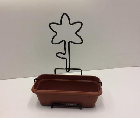 Nature Line Lily Virágláda és fali tartóval