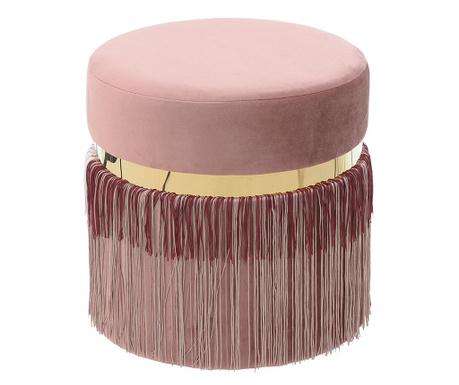 Stolček Fringe Pink