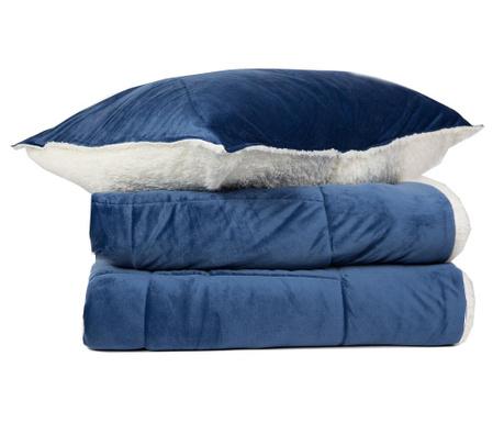 Zestaw na łóżko King Extra Linosa Blue