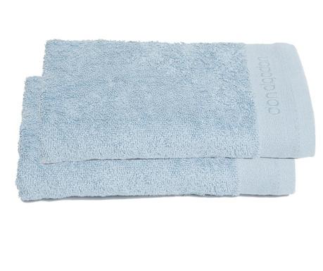 Sada 2 uterákov Lavabo Blue 50x100 cm
