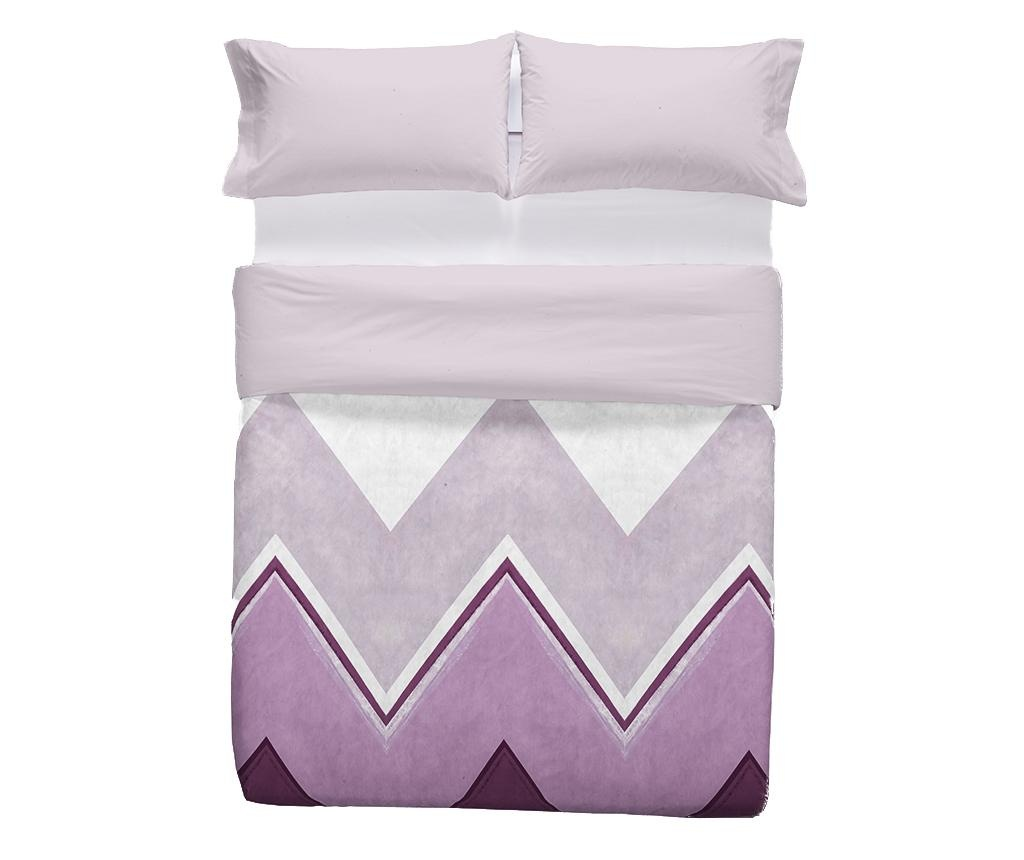 Set de pat Double Extra Ligari Purple