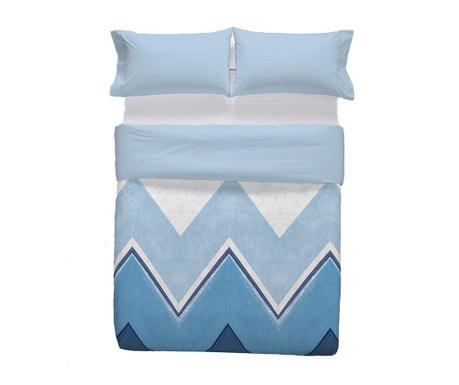 Zestaw na łóżko Double Extra Ligari Blue