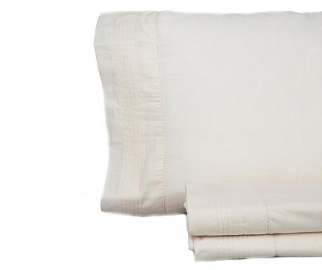 Set posteljina Double Pique Vainica Beige