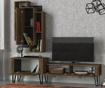 Oldish TV állvány és fali szekrény