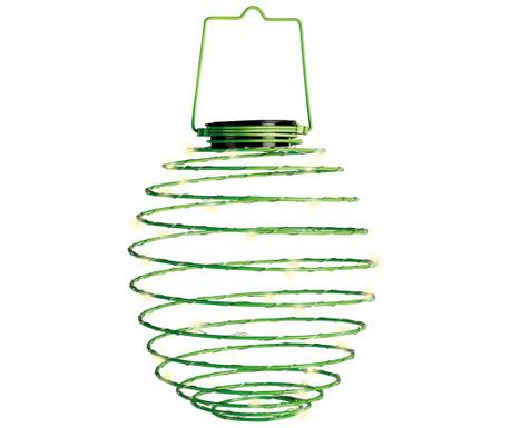 Solarna svjetiljka Spiral Green
