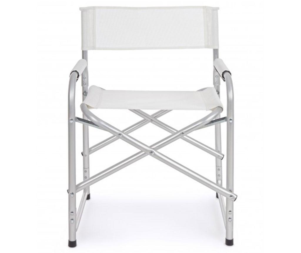 Zložljiv vrtni stol Ocean White