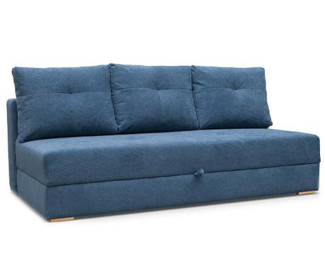 Dafne Blue Háromszemélyes kihúzható kanapé
