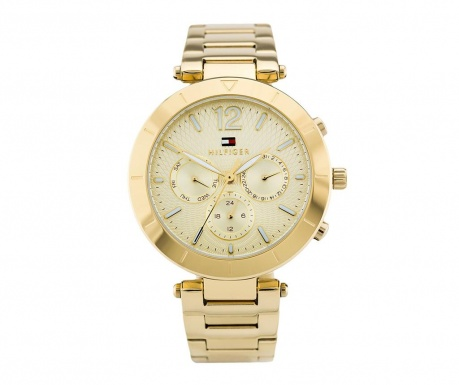 Дамски ръчен часовник Tommy Hilfiger Chloe Gold