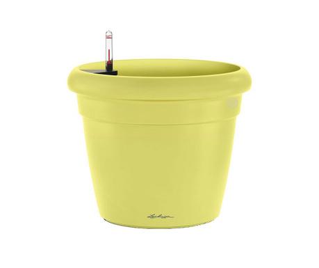 Set - cvetlični lonec z avto-namakalnim sistemom in držalo Rustico Fresh Lime