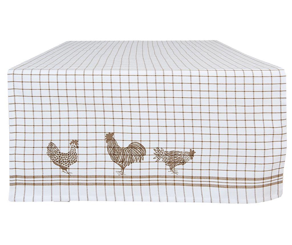 Traversa de masa Chicken And Rooster 50x140 cm