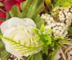 Dekorace Roses White Red
