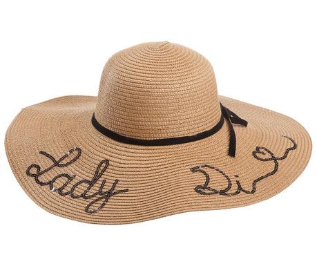 Ženski klobuk Lady Di