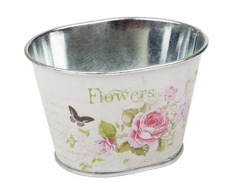 Stojalo za cvetlični lonec Flowers Butterflies