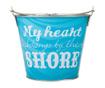 Dekorační kbelík By The Shore
