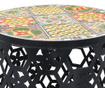 Sada 2 stojanů na květináče Mosaic Tiles Multi