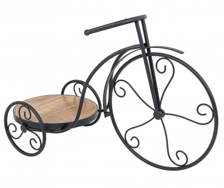 Suport pentru ghivece Bicycle Wood Pattern