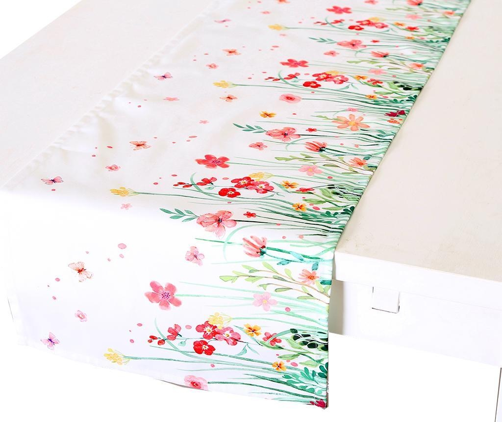 Traversa de masa Flowery 40x140 cm