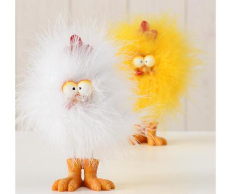 Decoratiune Bird Adon Yellow