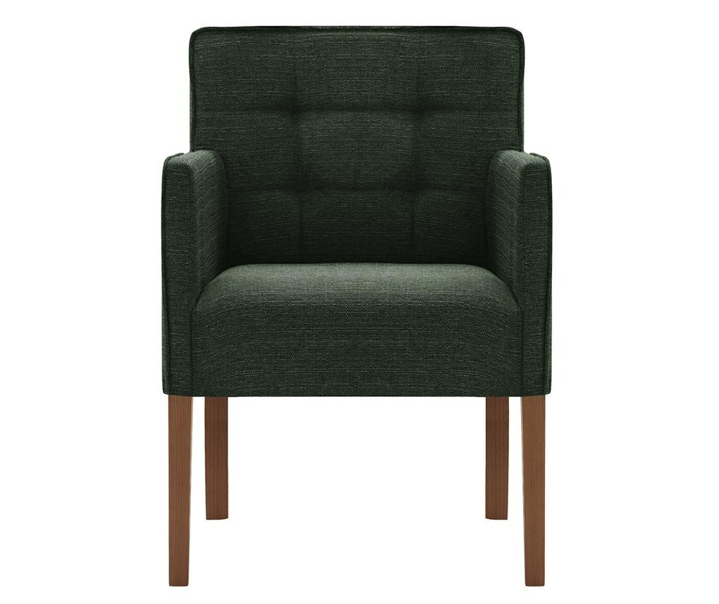 Set 2 scaune Freesia Brown & Green