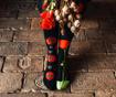 Sosete unisex Poppy Flower 35-38