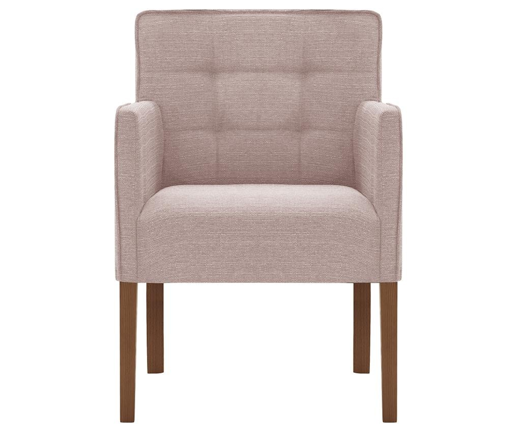 Set 2 scaune Freesia Brown & Powder