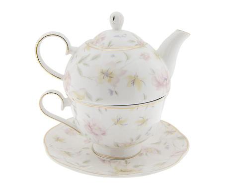 Sada čajník se šálkem a podšálkem Amilla
