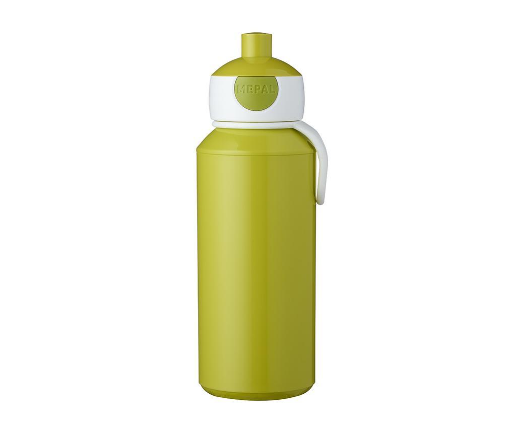 Sticla sport Pop-up Lime 400 ml