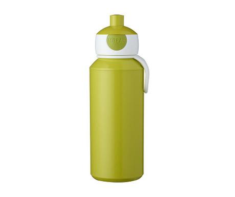 Αθλητικό μπουκάλι Pop-up Lime 400 ml