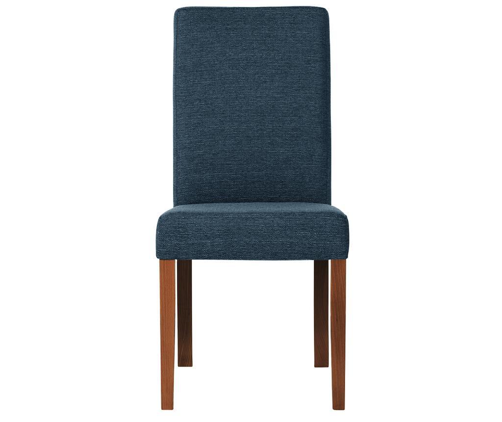 Set 4 scaune Tonka Brown & Dark Turquoise