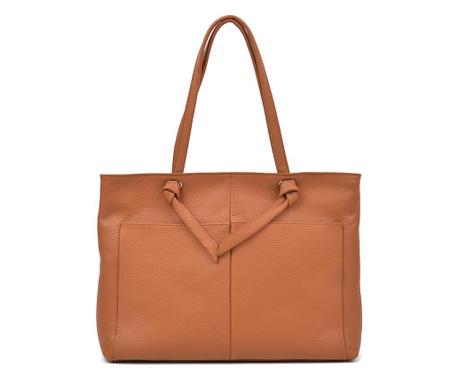 Τσάντα Amber Cognac