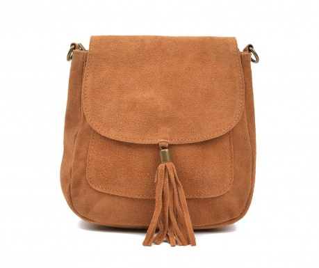 Τσάντα Rebecah Cognac