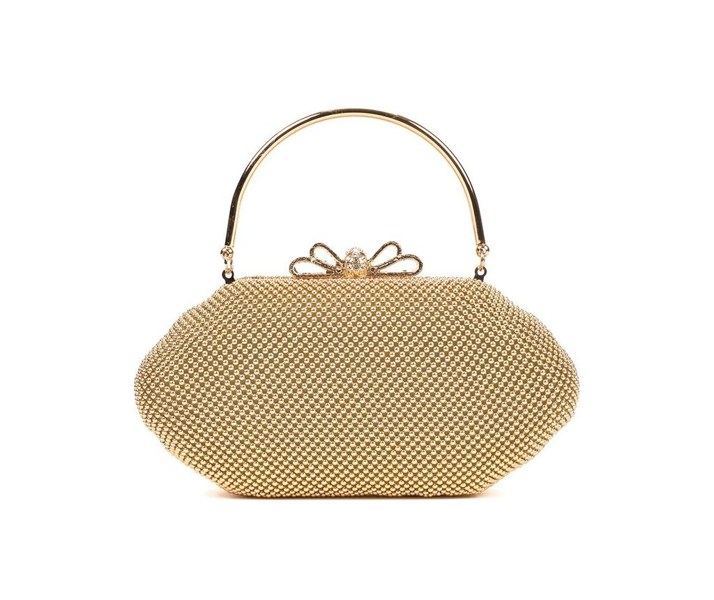 Geanta clutch Kyan Gold