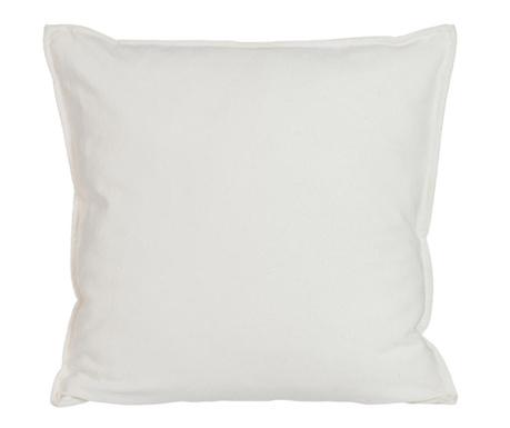 Poduszka dekoracyjna Glitter White 44x44 cm