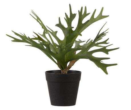 Sztuczna roślina w doniczce Staghorn