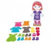 Set de creatie 30 piese Dress Up Doll